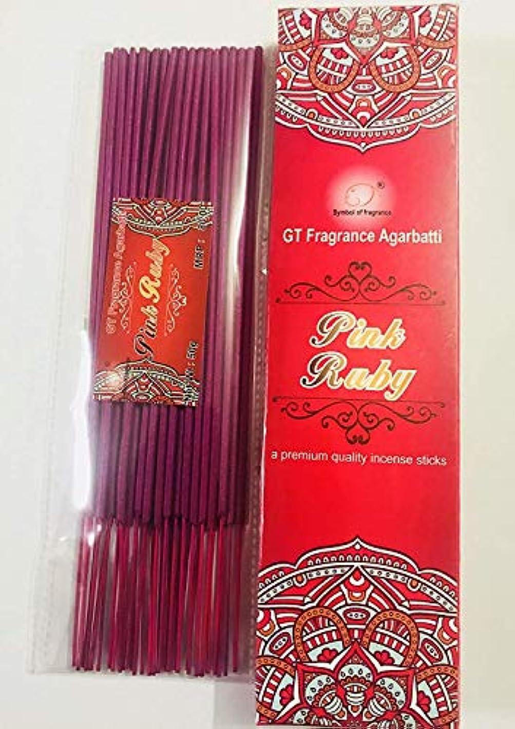 地下室下にコンサートPink Ruby. Bundle of 2 Packs, a Premium Quality Incense sticks-100g