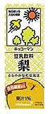 キッコーマン飲料 豆乳飲料 梨 200ml×18本