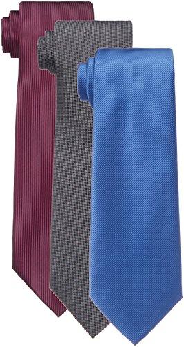 (はるやま) HARUYAMA 15種類から選べる 洗えるネクタイ 3本セット 洗濯ネット付き M181180002 00 02_アソート フリー