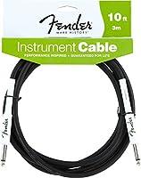 Fender シールドケーブル Fender® Performance Series Instrument Cable, 10', Black