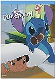 デルフィーノ A6メモ帳 ディズニー Film Art Lilo&Stitch DZ-77177