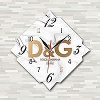 Dolce & Gabbana 11'' 壁時計(ドルチェ&ガッバーナ)あなたの友人のための最高の贈り物。あなたの家のためのオリジナルデザイン