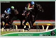 収録される馬、騎手は全て1弾未収録の完全新規ラインナップ!伝説の名馬、名騎手に加えて、期待のルーキー、新王者まで大挙襲来!怒涛の第2弾出走!オグリキャップを筆頭に1弾未収録の伝説級名馬を豪華収録!2012年クラシックシーズンを駆け抜けた新たな覇者をいち早く収録!名騎手の力で競走馬の能力を更に強化、最適な組み合わせを見つけよう!さらに1弾収録カードとの能力コンボも!武豊(1弾)×メジロマックイーン(2弾)でコンボ発動!【商品内容】全126種=ノーマル(白)54種、ノーマル(黒)30種、レア12種、...
