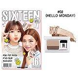 [New Color] 16brand Sixteen Eye Magazine 2g (#02 Hello Monday)/16ブランド シックスティーン アイ マガジン 2g (#02 Hello Monday) [並行輸入品]