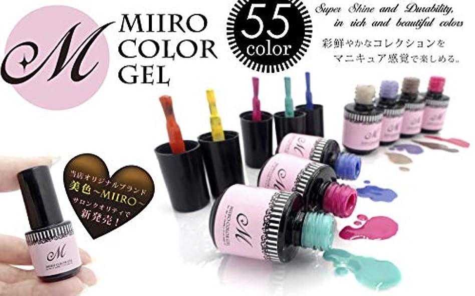エキスパート乳製品艦隊ジェルネイル カラー 美色Miiro (46.ブロンズブラウン(V123))