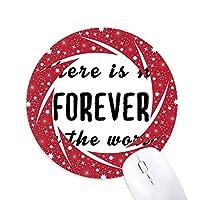 世界で永遠に引用符なし 円形滑りゴムの赤のホイールパッド