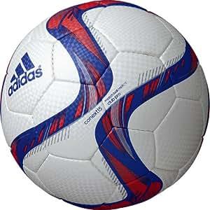 adidas(アディダス) サッカーボール コネクト15 クラブプロ AF5810WBR ホワイトXブルーXレッド 5号