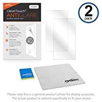 BoxWave Planetオーディオp10.1es ClearTouchアンチグレアスクリーンプロテクター( 2- Pack )–Planetオーディオp10.1esアンチグレア、指紋防止マットフィルムスキンtoシールドを傷