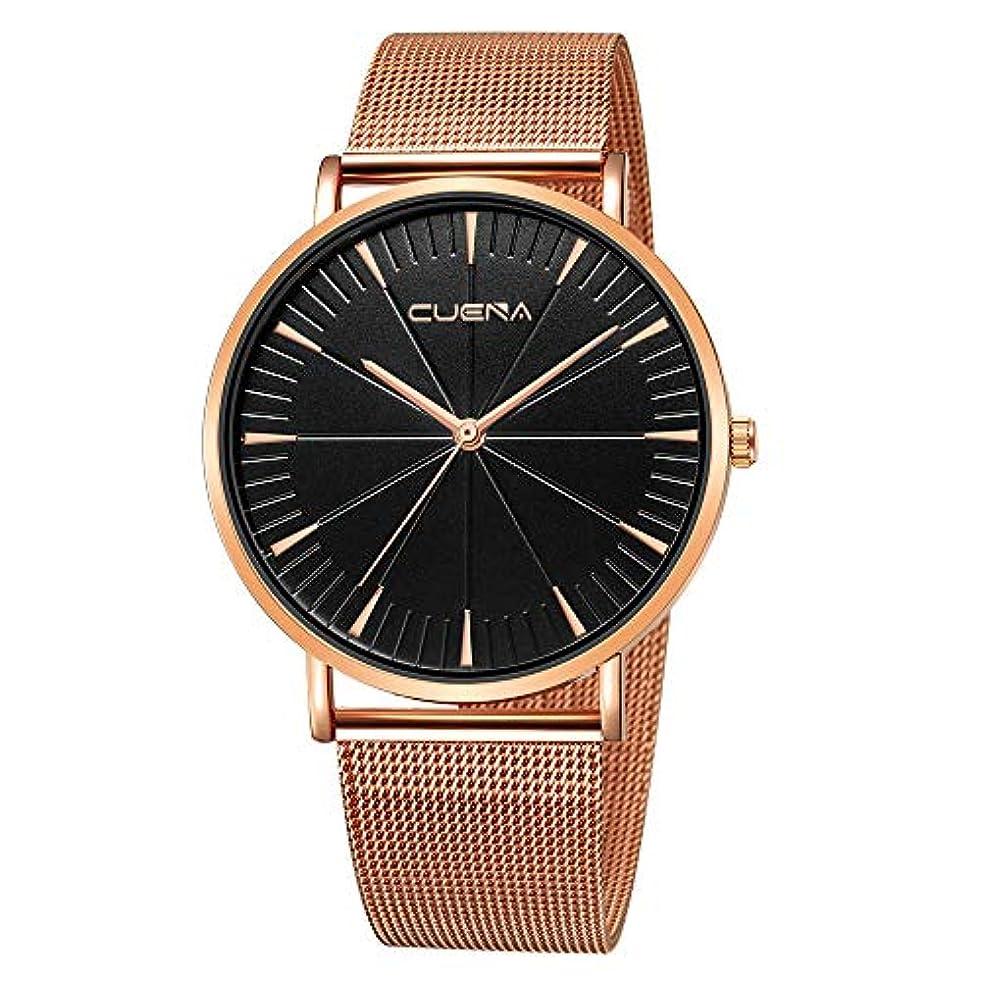 豪華な気づくくRencaifeinimo2019年最新 紳士用 超薄型 男女兼用 多機能 腕時計 人気 平日 ファッション メンズファッションミリタリーステンレススチールアナログスポーツクォーツビジネス腕時計