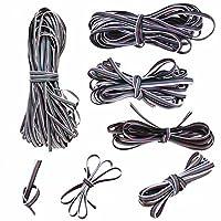 YZUEYT 1M-50M 5ピン延長ケーブルラインコードワイヤー3528/5050 RGBW LEDストリップライト YZUEYT (Color : Multi-colored, Size : Length 1M)