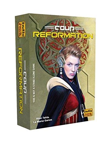 クー拡張セット 改革 (Coup: Reformation) (an expansion) カードゲーム