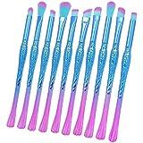 化粧ブラシセットメイクブラシ 10本セット 化粧筆 フェイスブラシ 化粧ブラシ 携帯便利 高級繊維毛 化粧ツール