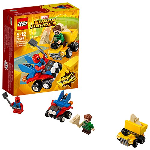 レゴ(LEGO) スーパー・ヒーローズ マイティマイクロ:スパイダーマン vs. サンドマン 76089