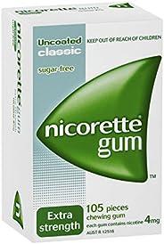 Nicorette Gum Classic 4mg 105