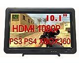 「cocopar® 10.1インチRaspberry Pi ラズベリーパイ に適応できる 1080P 携帯型ディスプレ IPS HDMI/DVI/VGA付き PS3/PS4/xbox360/mac miniゲームに適用する ハイビジョン モニター パソコンディスプレイ」の画像