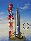 プラッツ 1/72 アメリカ空軍 ICBM コンベア SM-65D アトラス プラモデル HM2001