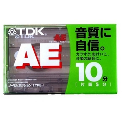 TDK オーディオテープ AE 10分 AE-10G