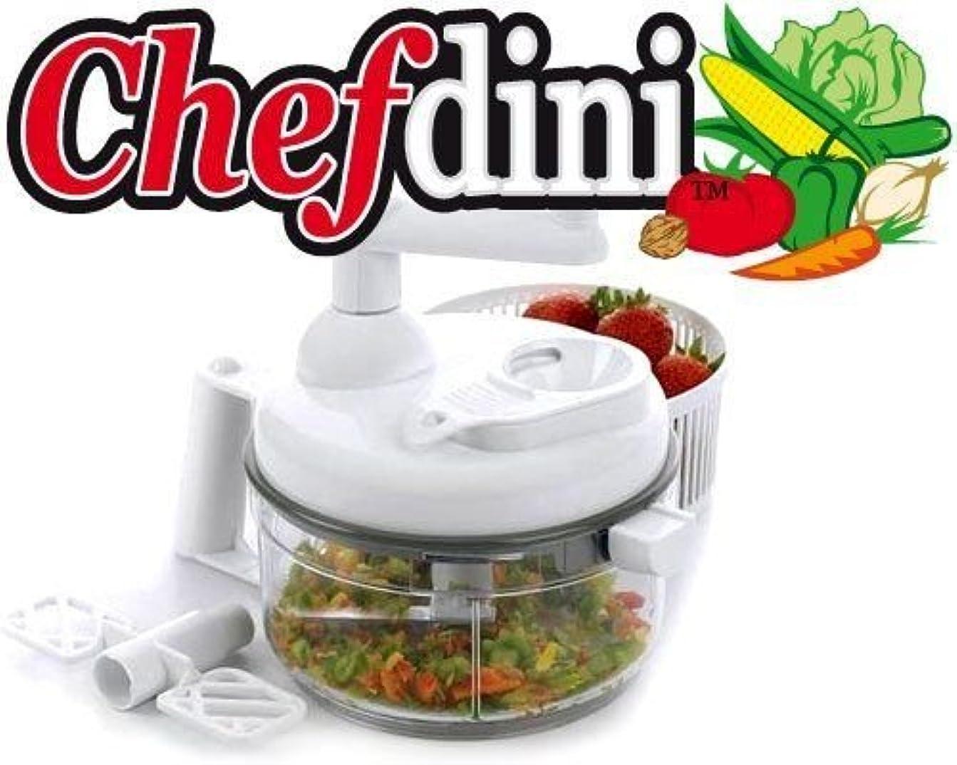 発掘更新するチューブChefdini Food Processor, White by Chefdini