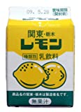 栃木乳業  関東・栃木レモン 200ml 30本 要冷蔵