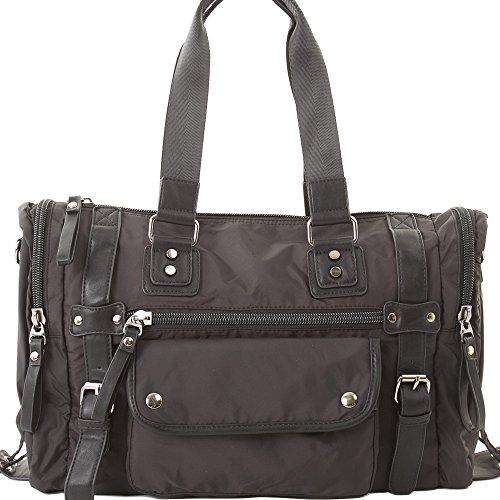 [カルリーノ] CARLINO ボストンバッグ ショルダーバッグ 手提げ バッグ トートバッグ メンズ 黒 全2色 AP-083 (ブラック)