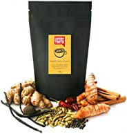 Savoury Tooth Turmeric Masala Latte - Delicious Hot or Cold - Blend of Turmeric and Aromatic Spices - Natural and Organic -