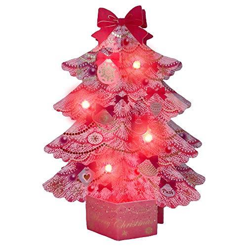 サンリオ クリスマスカード 洋風 ライト&メロディ ポップア...
