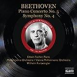 グレート・コンダクター・シリーズ/フルトヴェングラー ベートーヴェン:ピアノ協奏曲 第5番&交響曲 第4番