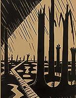 Journal Paper Notebook: War Landscape Art Cover