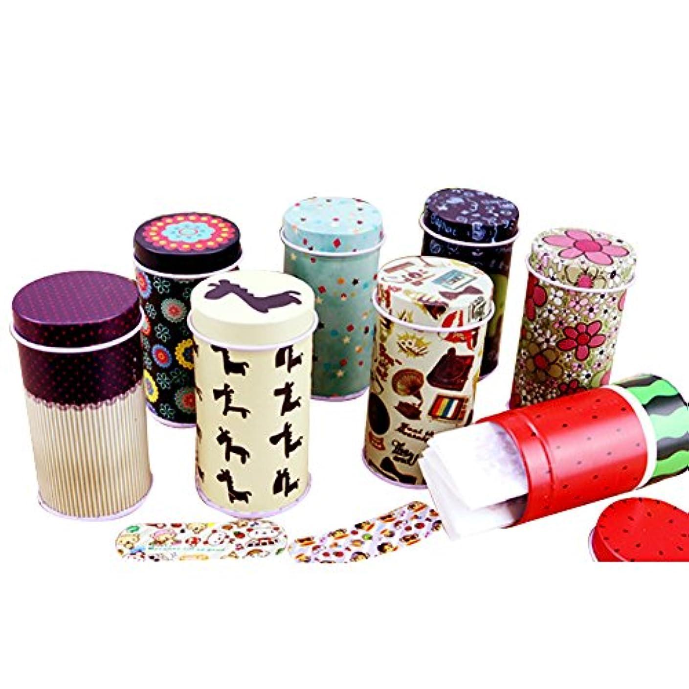 日曜日寄付する材料桜の雪 かわいい キャラクター 防水 応急処置 絆創膏 収納ケース付き 20枚入り/1箱 2箱セット