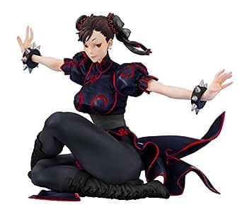 Fighters Legendary STREET FIGHTER III 3rd STRIKE 春麗 イーカプコン限定カラー ブラックⅡ (1/8スケール PVC塗装済み完成品)