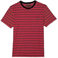 Wrangler Men's Every Street TEE RED Stripe