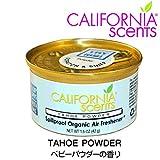 Amazon.co.jpCALIFORNIA SCENTS Spillproof Organic Air Freshener (TAHOE POWDER) [並行輸入品]