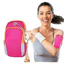 Sports Armband, Multifunctional Pockets Workout Running ArmBag