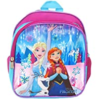 "Disney Frozen Toddler Backpack - Small 10"" Backpack - Elsa, Anna, Olaf"
