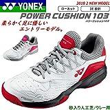 [ヨネックス] ソフトテニスシューズ POWER CUSHION 103 パワークッション103 初心者向け ユニセックス (足型:3E/ローカット) [SHT103] 28.0 114