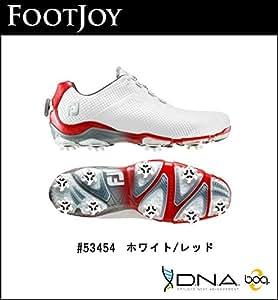 【2014年モデル】FOOTJOY【フットジョイ】DNA Boa【ディーエヌエーボア】ゴルフシューズ 53454【ホワイトレッド】 53454-XW,27.5cm