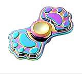 ZOTO 指スピナー Hand spinner Fidget Spinner Toy 亜鉛合金 ハンドスピナー かわいい猫爪型 おしゃれ ギフト