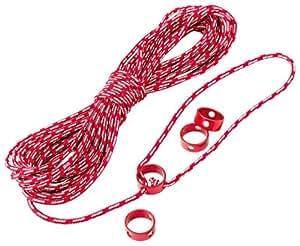 MSR テント用 ロープ リング型自在付き リフレクティブ ユーティリティーコード キット 15m 37616 【日本正規品】