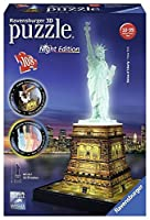 Ravensburger - Statue of Liberty 3D Puzzle - Night Edition [並行輸入品]