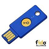 Yubico セキュリティキー - U2F / FIDO2, USB-A, 2段階認証