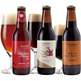 【<バニラチョコビール入>フレーバービール3種3本飲み比べセット】 アップルパイ、バニラチョコ、黒糖風味の3種×各1本