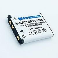 充電式Li - Ion電池2パックfor Pentax Optio rs1000rs1500、t30、v10、w30デジタルカメラ