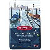 Derwent Watercolour Pencils Tin 12