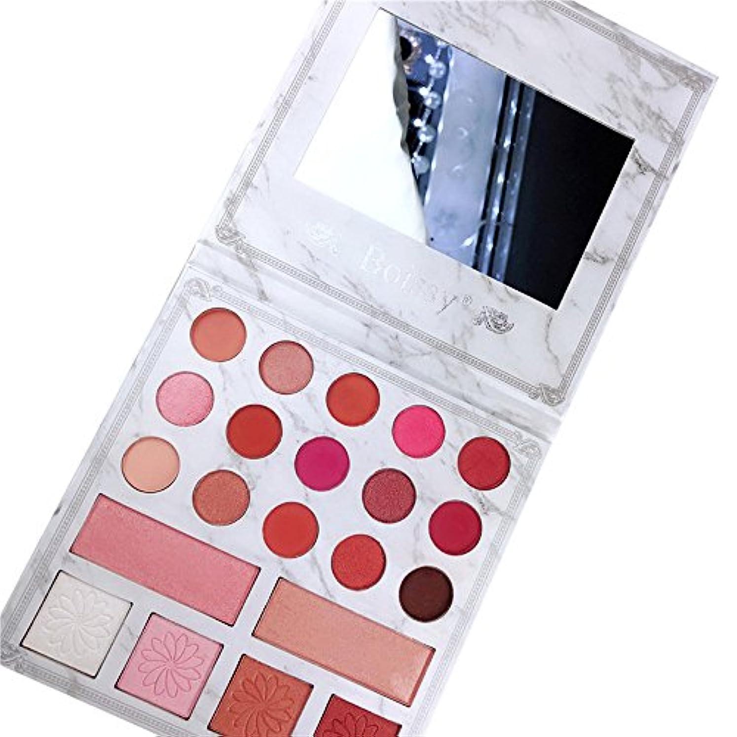 四サンダースレビュアー21色シマーマットアイシャドウアイシャドウパレットプロ化粧品メイクアップツール