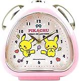 ティーズファクトリー 置き時計 ピンク H13.5×W13×D5cm ポケモン おむすびクロック ガーリーコレクション PM-5520211PK