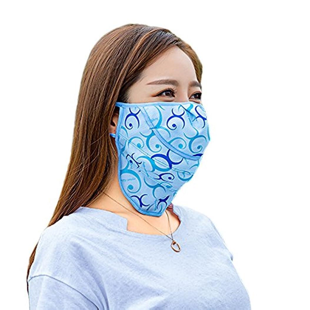 知覚苦行日記PureNicot 日焼け防止 3D フェイスマスク UVカット フェイスカバー 紫外線対策 農作業 ガーデニング アウトドア レディース