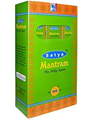 Satya Shrinivas Sugandhalaya お香スティック 180g サティヤ?マントラム 家庭用フレグランス