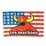 TOY MACHINE BANNER(トイマシーン)バナー AMERICAN MONSTER FLAG