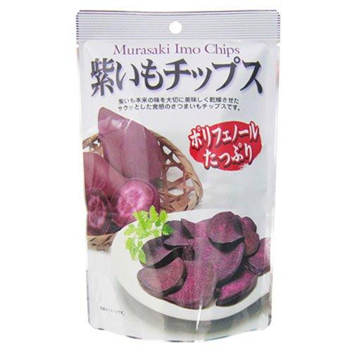 藤沢商事 紫いもチップス 50g×10個