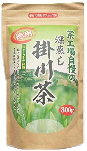 『大井川茶園 茶工場自慢の深蒸し掛川茶 徳用 300g』のトップ画像